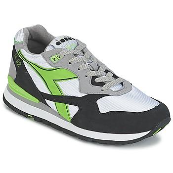Scarpe Sneakers basse Diadora N-92 Bianco / Nero / Verde