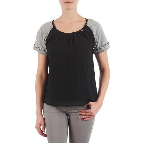 Lollipops PADELINE TOP schwarz   grau - Consegna gratuita   Spartoo    - Abbigliamento T-shirt maniche corte damen 39,60