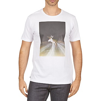 Abbigliamento Uomo T-shirt maniche corte Kulte BALTHAZAR PLEIN PHARE 101931 BLANC Bianco