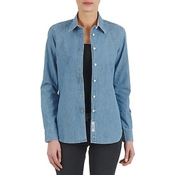 Abbigliamento Donna Camicie Kulte CHEMISE CIRCUIT 101826 BLEACH Blu