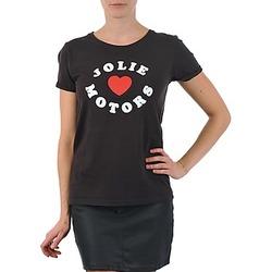 T-shirt maniche corte Kulte LOUISA JOLIEMOTOR 101954 NOIR