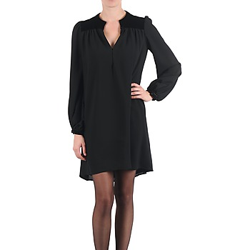 Abbigliamento Donna Abiti corti Brigitte Bardot BB43119 Nero
