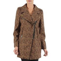 Abbigliamento Donna Cappotti Brigitte Bardot BB43110 Marrone / Leopard