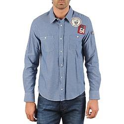 Abbigliamento Uomo Camicie maniche lunghe Mr Marcel NEBRASKA Blu
