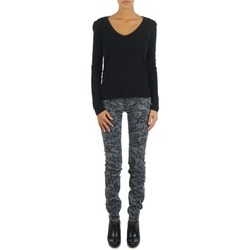 Jeans slim Gas TASCHE SUMATRA HIGH BLE BLACK