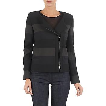 Abbigliamento Donna Giacche / Blazer Lola VIE DUP Nero / Grigio