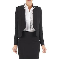 Abbigliamento Donna Giacche / Blazer Lola DOUBLE VAEL Nero