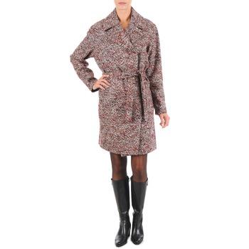 Abbigliamento Donna Cappotti Lola MORANDI IPERYON BORDEAUX