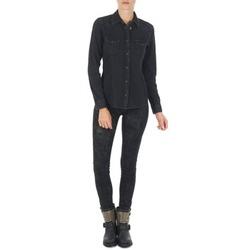 Abbigliamento Donna Jeans slim Lee SCARLETT Nero