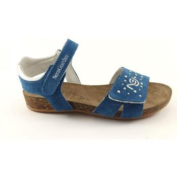 Sandali bambini Nero Giardini  JUNIOR 31022 bluette sandali bambina sughero + cauciù