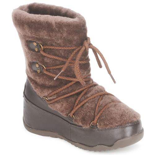FitFlop SUPERBLIZZ Cioccolato  Scarpe Stivali da neve Donna 98,50