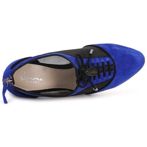 Gratuita Scarpe Pheobe Consegna Bourne Blue Tronchetti Donna 7550 2EDHW9IY