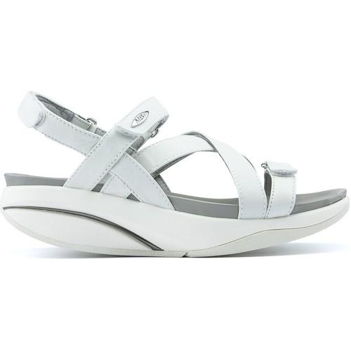 Mbt KIBURI W WHITE - Scarpe Sandali Donna 187,95
