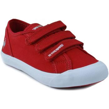 Scarpe Unisex bambino Sneakers basse Le Coq Sportif SAINT MALO PS STRAP ROJO