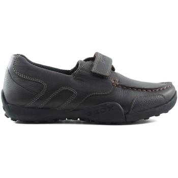 Scarpe Unisex bambino Sneakers basse Geox JW SNAKEN COLEGIAL MARRON