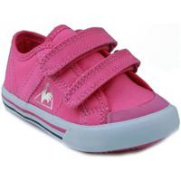 Scarpe Unisex bambino Sneakers basse Le Coq Sportif  DEAUVILLE PLUS ROSA