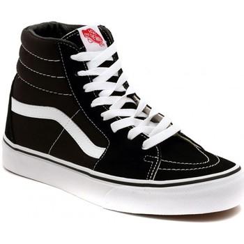 Scarpe Sneakers alte Vans SK8 HI BLACK