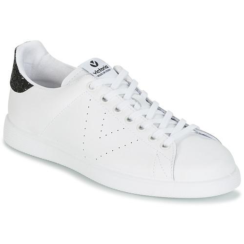 Victoria DEPORTIVO BASKET PIEL Bianco / Nero  Scarpe Sneakers basse Donna 47,20