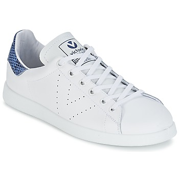 Scarpe Sneakers basse Victoria DEPORTIVO BASKET PIEL Bianco / Blu