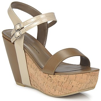 Scarpe Donna Sandali Chinese Laundry GO GETTER Taupe / Dk / Beige