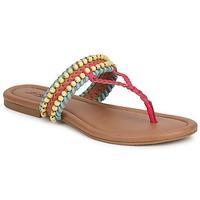Scarpe Donna Sandali Lucky Brand DOLLIS Nero / Camel / Capri / Blue