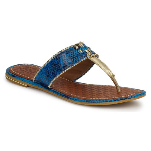 Juicy Couture ADELINE Bright / Blue / Snake  Scarpe Sandali Donna 136