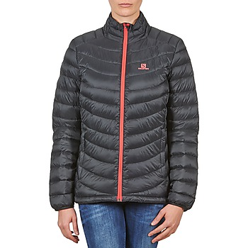 Abbigliamento Donna Piumini Salomon Jacket HALO DOWN JACKET W BLACK Nero