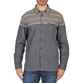 Abbigliamento Uomo Camicie maniche lunghe Element LENOX Grigio
