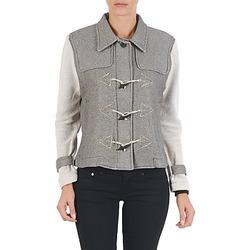 Abbigliamento Donna Giubbotti Diesel G-JAYA-A SWEAT-SHIRT Grigio