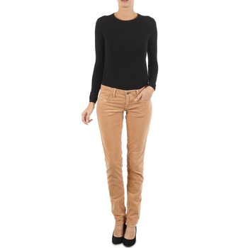 Abbigliamento Donna Jeans slim Diesel GRUPEE-F TROUSERS Beige