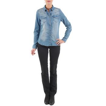 Abbigliamento Donna Jeans dritti Diesel MYBOY TROUSERS Nero