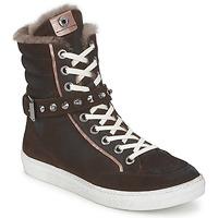 Scarpe Donna Sneakers alte Janet Sport MOROBRAD Marrone