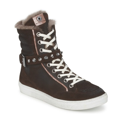 Janet Sport MOROBRAD Marrone  Scarpe Sneakers alte Donna 60