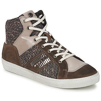 Scarpe Donna Sneakers alte Janet Sport ERICMARTIN TAUPE