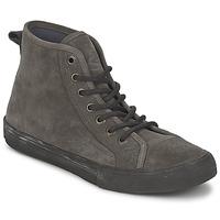 Scarpe Donna Sneakers alte Ed Hardy OIL SPILL 200 Grigio