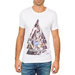 Abbigliamento Uomo T-shirt maniche corte Eleven Paris BERLIN M MEN Bianco