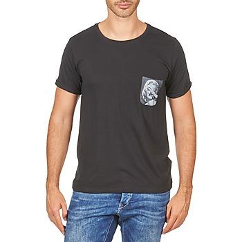 Abbigliamento Uomo T-shirt maniche corte Eleven Paris MARYLINPOCK MEN Nero
