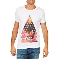 Abbigliamento Uomo T-shirt maniche corte Eleven Paris MIAMI M MEN Bianco