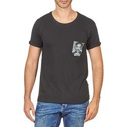 Abbigliamento Uomo T-shirt maniche corte Eleven Paris WOLYPOCK MEN Nero