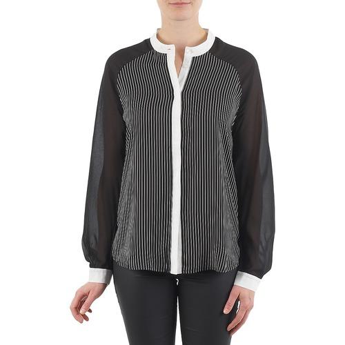 Manoukian RAGANE schwarz - Consegna gratuita   Spartoo    - Abbigliamento Camicie damen 34,50