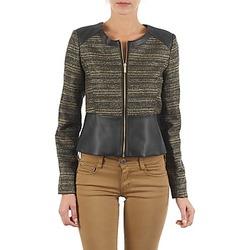 Abbigliamento Donna Giacche / Blazer Manoukian QUEELT Nero / Dore