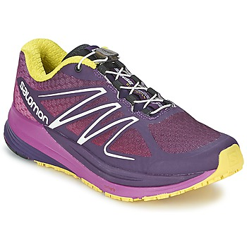 Scarpe Donna Running / Trail Salomon SENSE PROPULSE W Viola / Rosa / Giallo