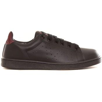 Scarpe Donna Sneakers basse Cassis Côte d'Azur Baskets Marine noir et bordeaux Nero