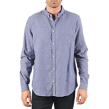 Abbigliamento Uomo Camicie maniche lunghe Cheap Monday DAMON BD SHIRT Blu