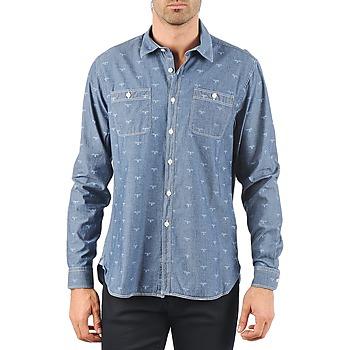 Abbigliamento Uomo Camicie maniche lunghe Barbour LAWSON Blu