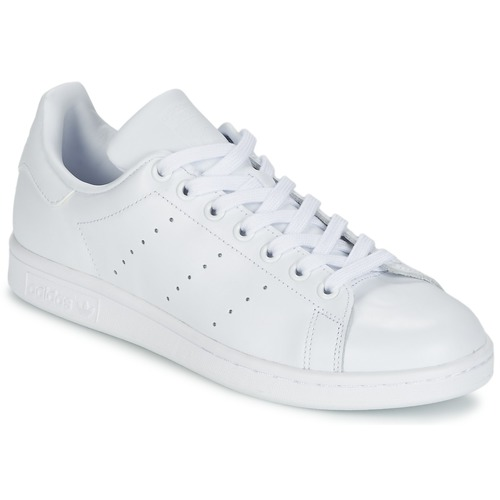 Scarpe Sneakers basse adidas Originals STAN SMITH Bianco