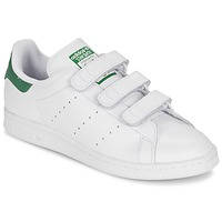Scarpe Sneakers basse adidas Originals STAN SMITH CF Bianco / Verde