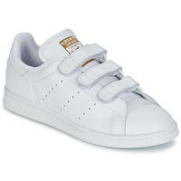 Scarpe Sneakers basse adidas Originals STAN SMITH CF Bianco