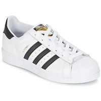 Scarpe Bambino Sneakers basse adidas Originals SUPERSTAR Bianco