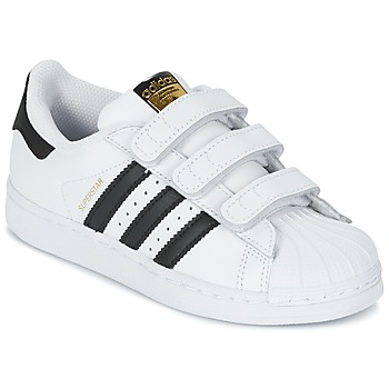 Scarpe Unisex bambino Sneakers basse adidas Originals SUPERSTAR FOUNDATIO Bianco / Nero